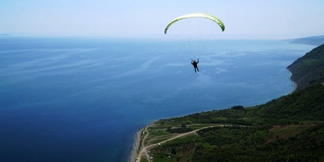 yamaç paraşütü Uçmakdere