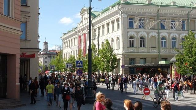 Vilnius gezilecek yerler