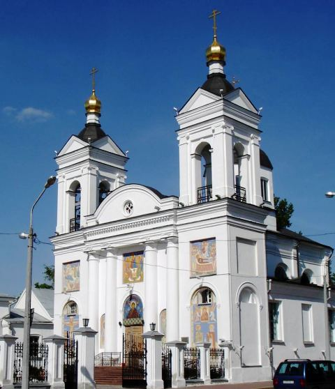 Vitebsk de gezilecek yerler trinitarian church belarus