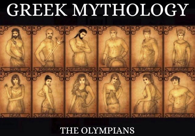 Eski Yunan Tanrıları
