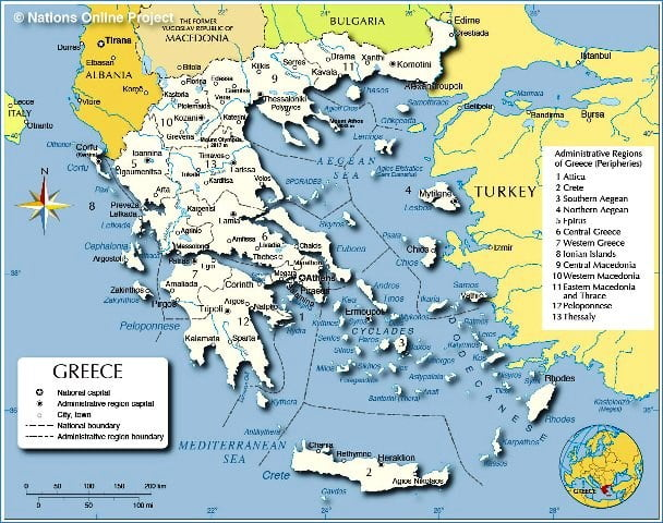 Yunanistan illeri